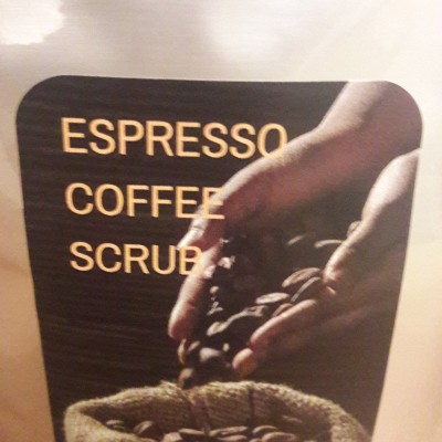 ESPRESSO Coffee Scrub Image