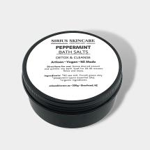 Peppermint Detox Bath Salts
