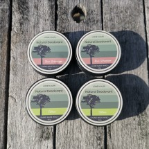 Lone Kauri Natural Deodorant - Family Pack