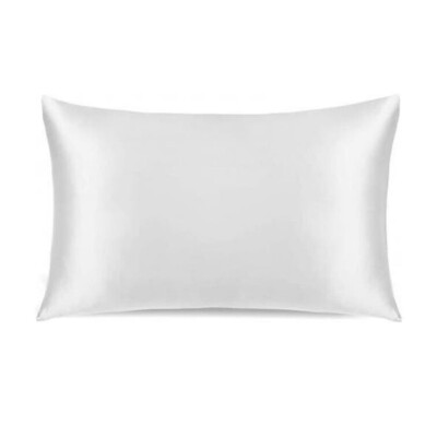 Conscious Silk Pillowcase – White Organic Mulberry Silk Image