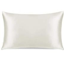 Conscious Silk Pillowcase - Ivory Organic Mulberry Silk