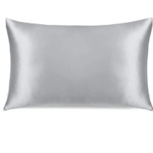 Conscious Silk Pillowcase -Silver Organic Mulberry Silk