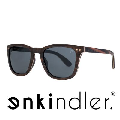 Wooden Sunglasses – Classic – Grey Lens Image