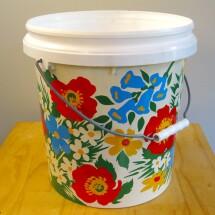 Planter Pot - Retro Floral