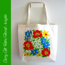Carry-all Floral Bag - brights