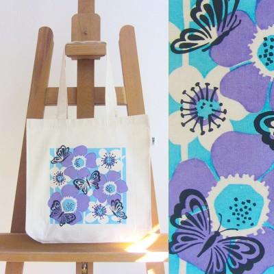 Fairtrade Butterfly Bag (mauve) Image