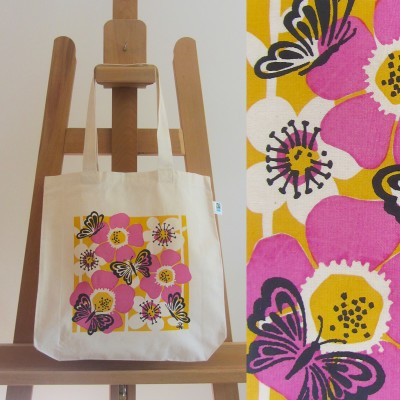 Fairtrade Butterfly Bag (pink) Image
