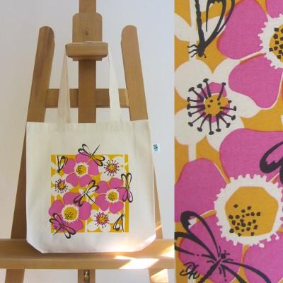 Fairtrade Dragonfly Bag (pink) Image