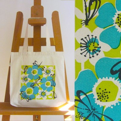 Fairtrade Dragonfly Bag (turquoise) Image