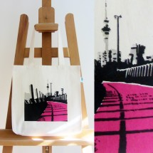 Fairtrade Pink Road Bag