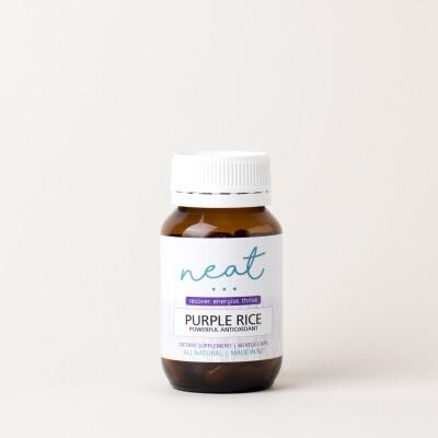 Purple Rice Antioxidant Supplement Image
