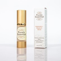 Purely Essential Hyaluronic +Vitamin C Face Serum 30ml