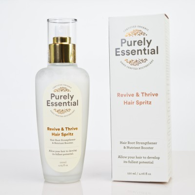 Purely Essential Revive & Thrive Hair Spritz 120ml Image