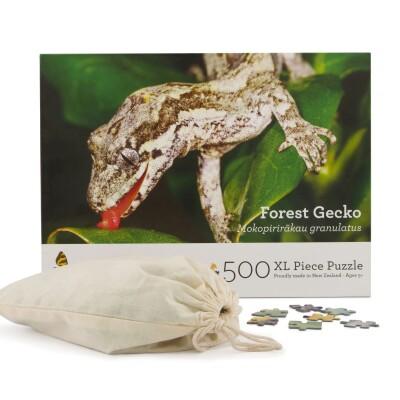 Forest Gecko 500 XL Piece Puzzle Image