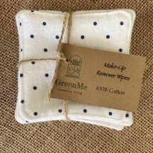 100% Cotton Make Up Remover Wipe - 5 Pack - WHITE SPOT