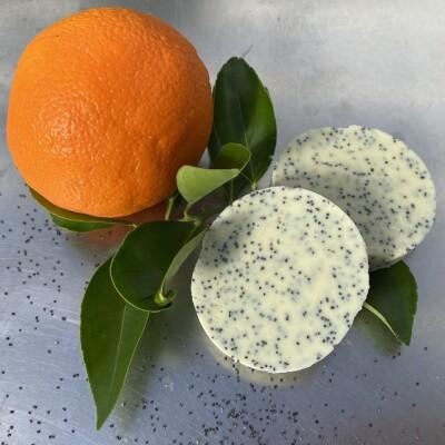 Orange & Poppyseed Handmade Soap Image