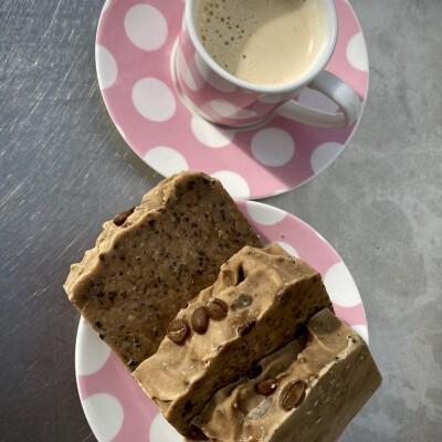 Exfoliating Coffee Handmade Soap Image