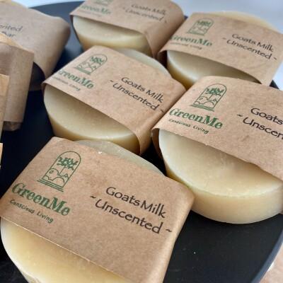 Goat Milk Unscented Handmade Soap Image