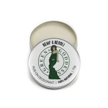 Natural Deodorant 70g - Hemp & Neroli