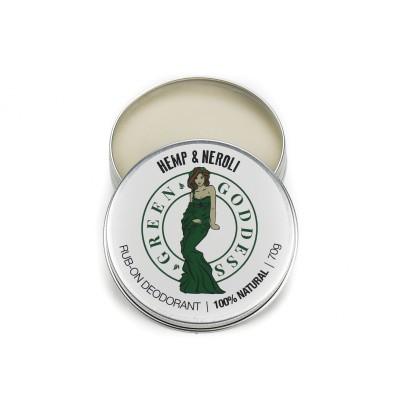 Natural Deodorant 70g – Hemp & Neroli Image