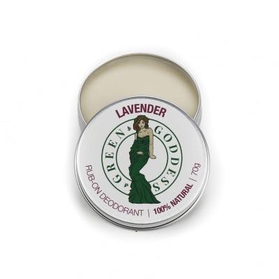 Natural Deodorant 70g – Lavender Image