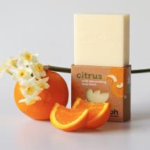 Citrus Dish Wash Soap Block Vegan 200g/7.05oz Image