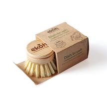 Bamboo Dish Brush Replacement Head - Sisal Bristles