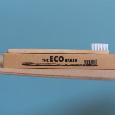Child-Sized Bamboo Toothbrush – 12 Pack Image