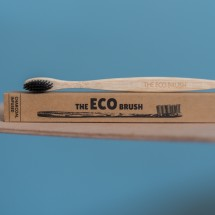 Charcoal Infused Bamboo Toothbrush Image