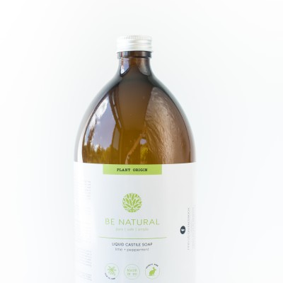 Organic Liquid Castile | Lime & Peppermint  | 1000mls. Image