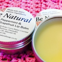 Organic Peppermint and Grapefruit Lip Balm