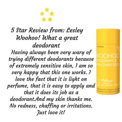Woohoo Natural Deodorant -Mellow 60g Image