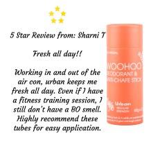 Woohoo Natural Deodorant -Urban 60g