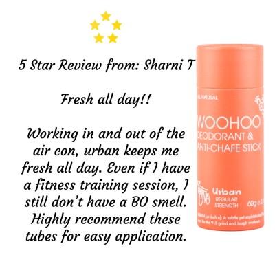 Woohoo Natural Deodorant -Urban 60g Image