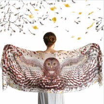 Day Owl cotton wrap Image