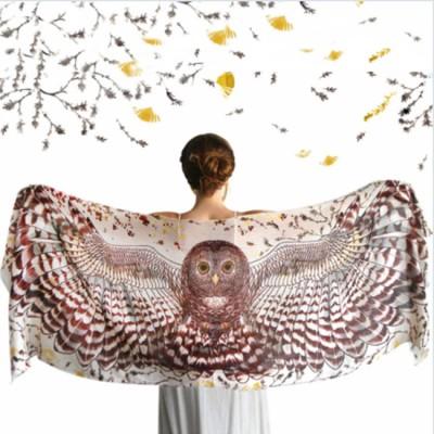 Day Owl cotton wrap Image