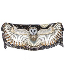 Wheat Owl cotton wrap