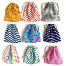 Fabric Party Bags / Small Gift Bags