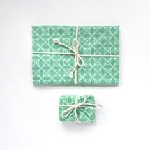 Reusable Gift Wrap - Spearmint Image