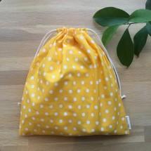 Reusable Gift Bag -  Sunny Polka