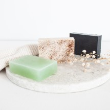 Soap bar trio
