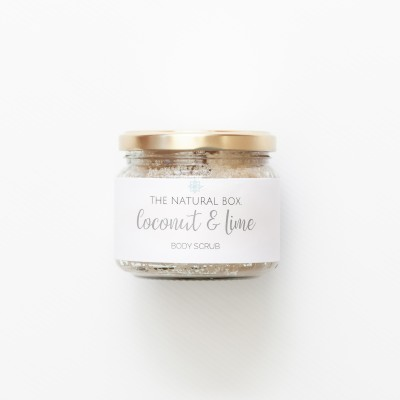 COCONUT + LIME SUGAR SCRUB Image