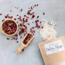 Detox Rose bath soak