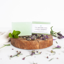 LAVENDER + PEPPERMINT soap Image