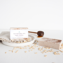 Honey + Oatmeal soap
