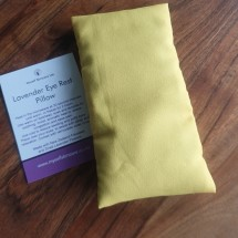 Lavender Eye Pillow - Yellow